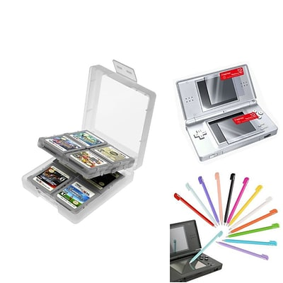Insten® 1034949 3-Piece Game Case Bundle For Nintendo DS/DS Lite/DSi/DSi LL/XL