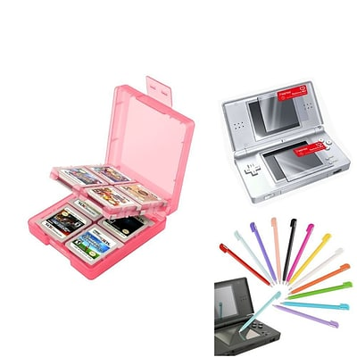 Insten® 1034958 3-Piece Game Case Bundle For Nintendo DS/DS Lite/DSi/DSi LL/XL