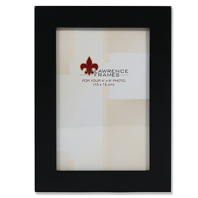 Black Wood Classic 4x6 Picture Frame