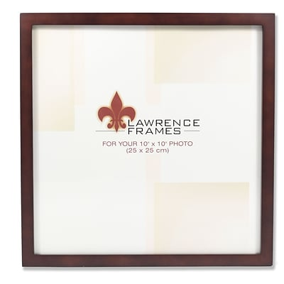 755910 Espresso Wood 10x10 Picture  - Gallery Collection Frame