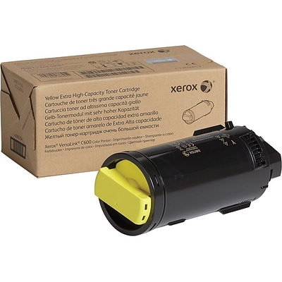 Xerox Original Yellow Toner Cartridge (106R03918), Extra High Yield