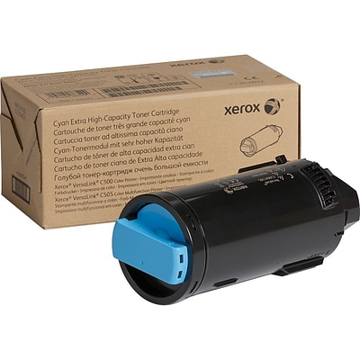 Xerox Original Cyan Toner Cartridge (106R03866), Extra High Yield