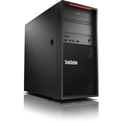 Lenovo ThinkStation P320 30BH0022US Workstation, 1 x Intel Core i7 (7th Gen) i7-7700 Quad-core 3.60GHz, 8GB DDR4 SDRAM, 1TB HDD