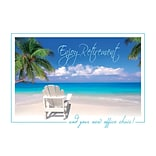 Tropical Retreat Retirement Cards