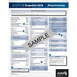 AMA ICD-10-CM 2019 Snapshot Coding Card, General Surgery