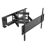Level Mount Manual Cantilever Double Stud Tilt Wall Mount for 56- 90 Flat Panel Screens