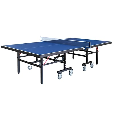 Hathaway™ 30 x 60 x 108 Back Stop Table Tennis Table, Blue
