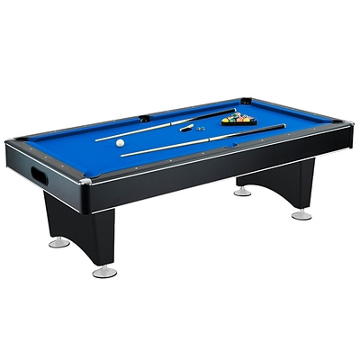 Hathaway™ Hustler 8 Pool Table, Blue