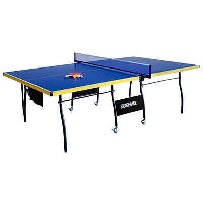 Hathaway™ 30 x 60 x 107 1/2 Bounce Back Table Tennis Table, Blue