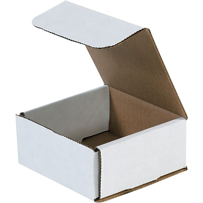 4 3/8 x 4 3/8 x 2 Corrugated Mailers, 50/Bundle (MLR1)