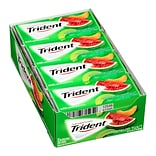 Trident Watermelon Twist Sugar-Free Gum, 14 Pieces, 12 Count (131723)