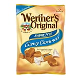 Werthers Original Sugar Free Chewy Caramel Candy, 1.46 oz., 12 Count (037265)