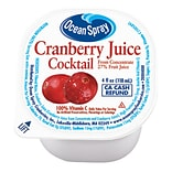 Ocean Spray Cranberry Juice, 4 oz., 48 Count (00700)