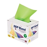 Rep Latex-Free-Exercise Band, Lime, 6 Yard