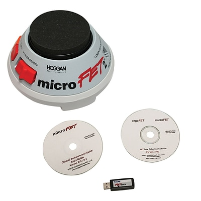 Microfet2 Dynamometer Wireless with Clinical and Fet Software Collection Packages