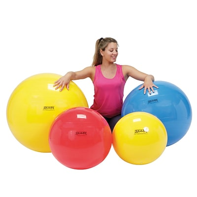Physiogymnic Molded Vinyl Inflatable Ball, 45Cm (18in), Yellow