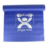 Cando Yoga Mat, Blue, 68 x 24 x 1/6, Eco-Friendly