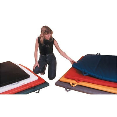 6 x 12 Non-Folding Mat with Handles, 2 Polyurethane