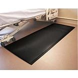 Fabsafe Fall Mat, 29 x 70 x 5/8, Black