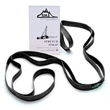 Black Mountain Products Stretch Strap with Instruction Guide, Black