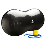 Black Mountain Products Peanut Stability Ball with Pump 1000lb Static Weight Capacity