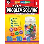 Shell Education 180 Days of Problem Solving for First Grade (51613)