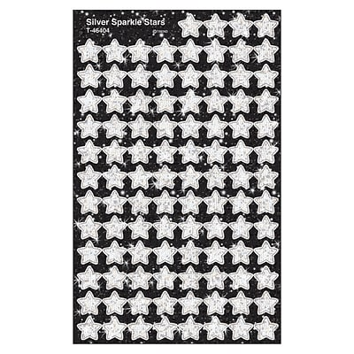 Trend® superShapes Sparkle Star Chart Seals, Silver
