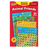 Trend Animal Friends superSpots Stickers Variety Pack, 2500 CT (T-46915)