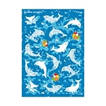 Dynamic Dolphins Sparkle Stickers®