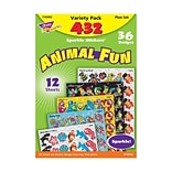 Trend Animal Fun Sparkle Stickers Variety Pack, 432 CT (T-63902)