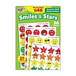 Trend Smiles & Stars Stinky Stickers Variety Pack, 648 CT (T-83905)