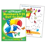 Trend Wipe-Off Book, Numbers 1-31 Dot-to-Dot