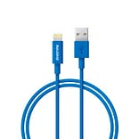 Delton 4 Lighting to USB Sync and Charge Cable, Blue