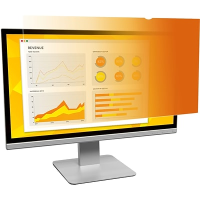 3M™ Gold Privacy Filter for 24 Widescreen Monitor (16:9)