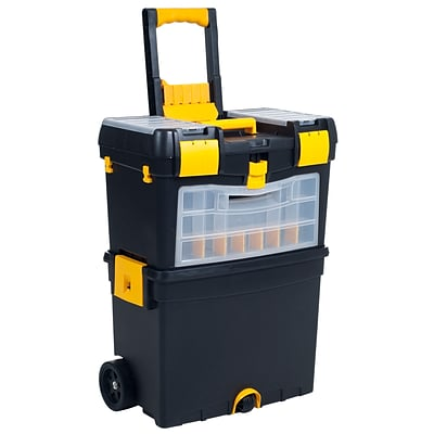 Trademark Tools™ Deluxe Mobile Workshop and ToolBox, 10 1/2 L x 18 W x 24 1/2 H