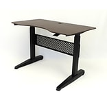 BOSS 48 Gas Lift Desk, Mocha