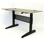 BOSS 60 Gas Lift Desk, Drift Wood