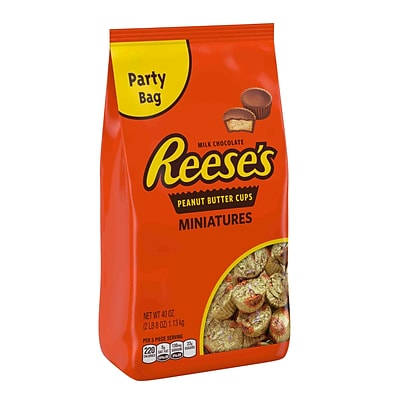 Reeses® Peanut Butter Cup Miniatures Party Bag, 40 oz. Bag