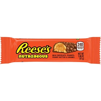 Reeses Nutrageous Bar, 1.66 oz., 18/Box