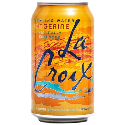 Lacroix® Tangerine Sparkling Water Fridge Pack Bundle, 12 oz. Cans, 12/Pack, 2 Packs/Carton (NAV40106)