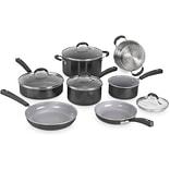 Advantage Ceramica XT 11-Piece Nonstick Cookware Set in Black (54C11BK)