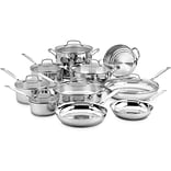 Chefs® Classic Stainless 17-Piece Cookware Set (7717N)