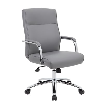 Boss Modern Executive Conference Chair, Grey (B696CGY)