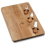 4-Piece Acacia Cheese Board with Accessories (C77CB4PCHS)