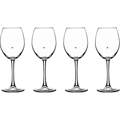 The Stars The Limit Stemware Collection, 4 White Wine Glasses (CG01S4WW)