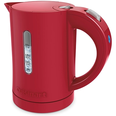 Quickettle Compact Plastic Electric Kettle in Red (CK5R)