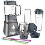 Hurricane Compact Juicing Blender with Chopping Cup and 2 Travel Cups (CPB380)