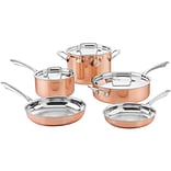 8-Piece Copper Tri-Ply Stainless Cookware Set (CTPP8)