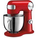 5.5-Qt. Tilt-Back Head Stand Mixer with 1 Power Outlet in Red (SM50R)