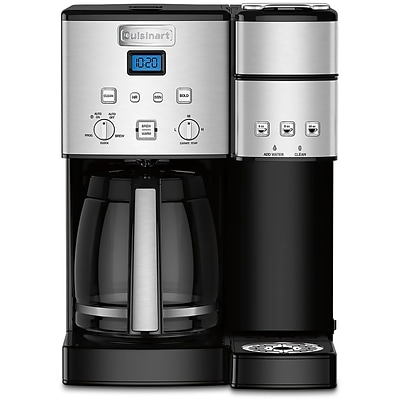Coffee Center 12-Cup Coffee Maker and Single Serve Brewer (SS15)